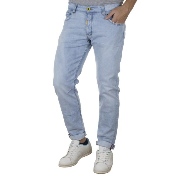 Τζιν Παντελόνι Slim Back2jeans M50 SS20 Sky Blue