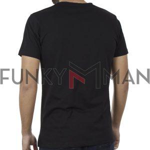 Κοντομάνικη Μπλούζα T-shirt COVER CELL Y917 SS20 Μαύρο