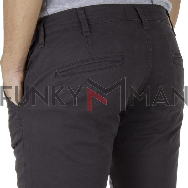Chinos Παντελόνι Regular COVER T0085 CHIBO SS20 Ανθρακί
