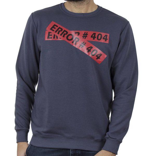 Φούτερ Μπλούζα Cotton4all 20-825 Indigo