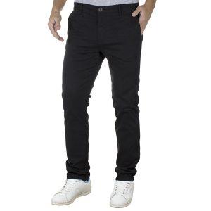 Παντελόνι Casual Chinos DOUBLE CP-220 Μαύρο