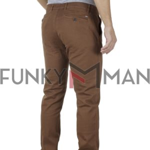 Παντελόνι Casual Chinos DOUBLE CP-220 Camel