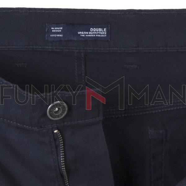 Πεντάτσεπο Casual Παντελόνι 5 Pockets DOUBLE FP-225 Navy
