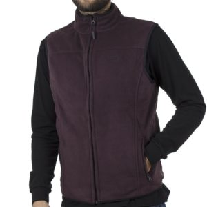 Fleece Γιλέκο Gilet DOUBLE MFT-2 Wine Red