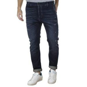 Jean Chinos Παντελόνι Carrot Fit REDSPOT RYAN SS20 Μπλε