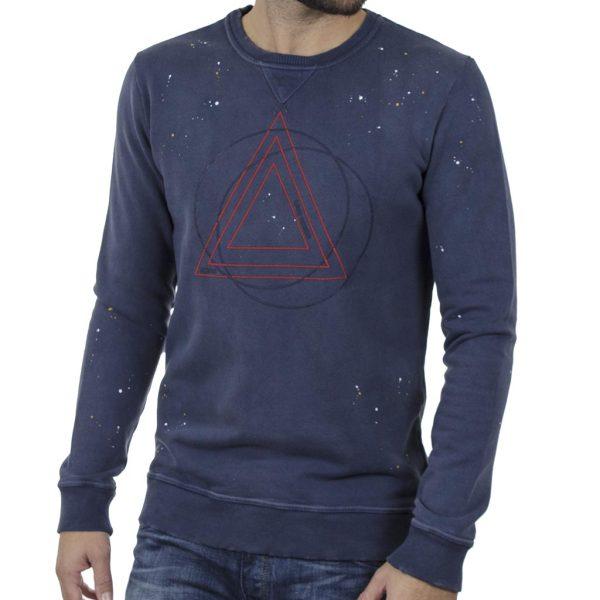 Βαμβακερό Fashion Φούτερ SCINN ST062 Μπλε