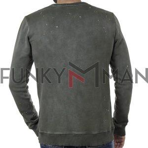 Βαμβακερό Fashion Φούτερ SCINN ST062 Olive