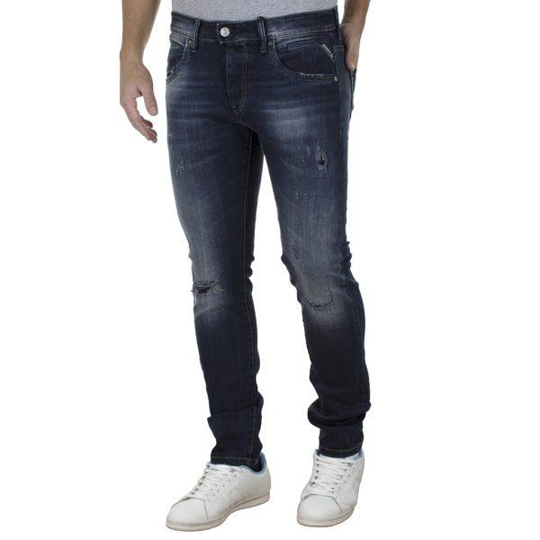 Τζιν Παντελόνι Slim Fit SHAFT Jeans 5707 SS20 Μπλε