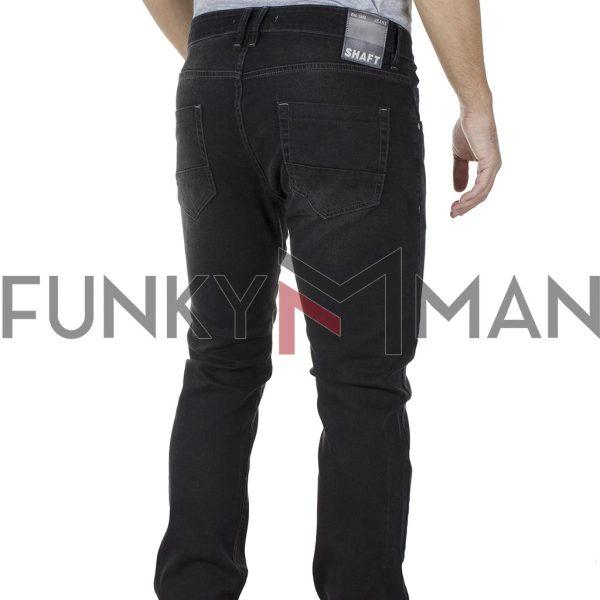 Τζιν Παντελόνι Slim Fit SHAFT Jeans C8512 SS20 Μαύρο