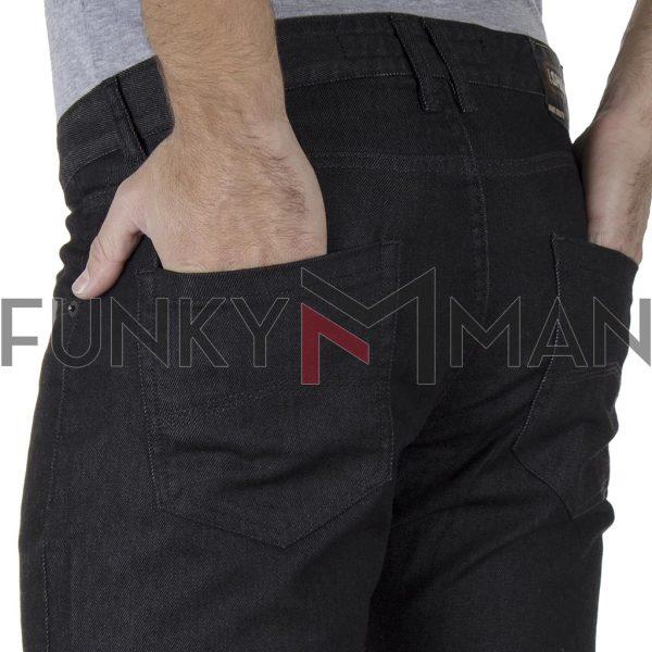 Τζιν Παντελόνι Slim Fit SHAFT Jeans DC800 SS20 Μαύρο