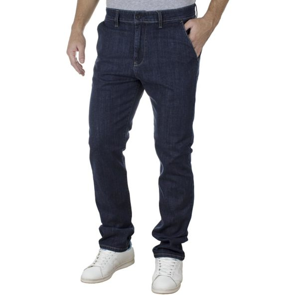 Τζιν Chinos Παντελόνι SHAFT Jeans L965 SS20 Μπλε