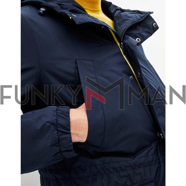 Parka Jacket CELIO PUVENT Navy