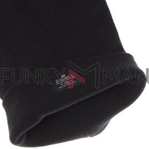 Πλεκτός Σκούφος Cap Knit DOUBLE MHT-4 Μαύρο