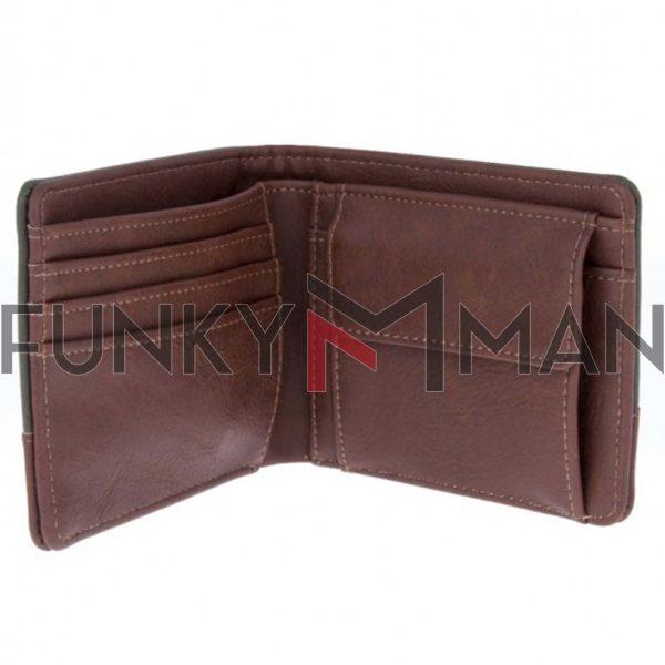 Πορτοφόλι FUNKY BUDDHA FBM002-10219 σκούρο Πράσινο