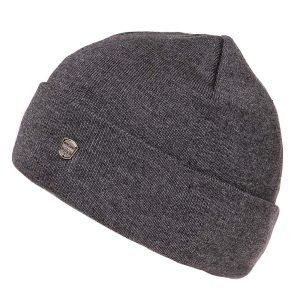 Πλεκτός Σκούφος Knitted Hat HEAVY TOOLS PANEL19 σκούρο Γκρι