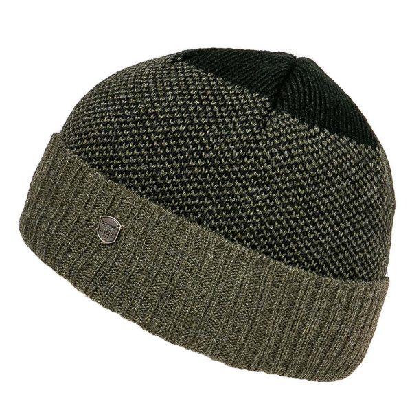 Πλεκτός Σκούφος Knitted Pattern Hat HEAVY TOOLS PANTER Olive