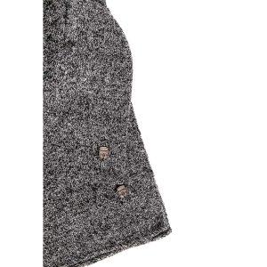 Σετ Πλεκτός Σκούφος με Κασκόλ HEAVY TOOLS PATRIA19 Ανθρακί