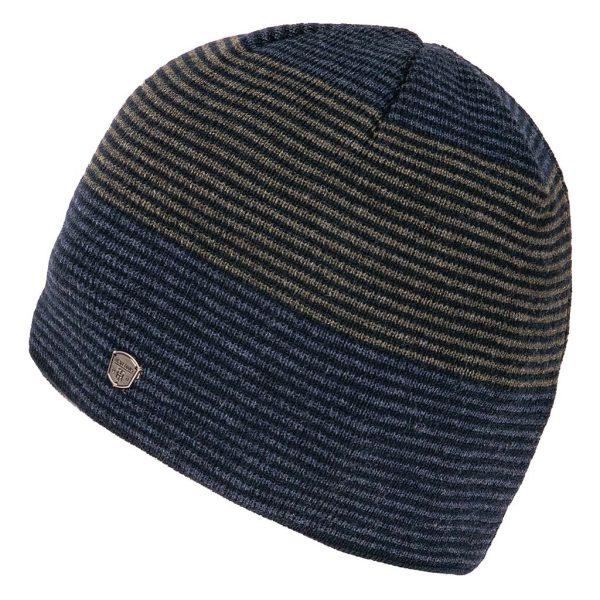 Πλεκτός Ριγέ Σκούφος Knitted Hat HEAVY TOOLS PENJEN Χακί