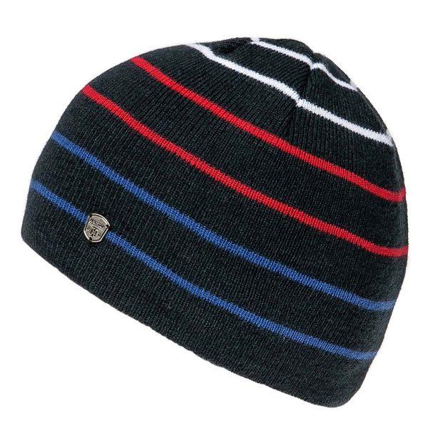 Πλεκτός Ριγέ Σκούφος Knitted Hat HEAVY TOOLS PERSEI Navy