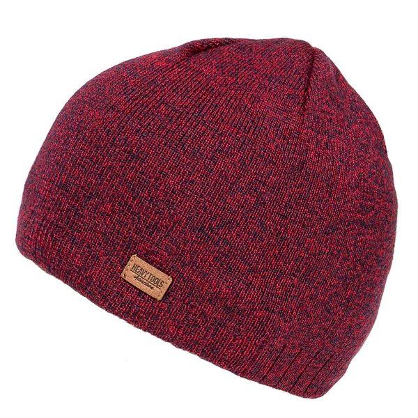 Πλεκτός Σκούφος Knitted Hat HEAVY TOOLS POSIE19 Βουργουνδί