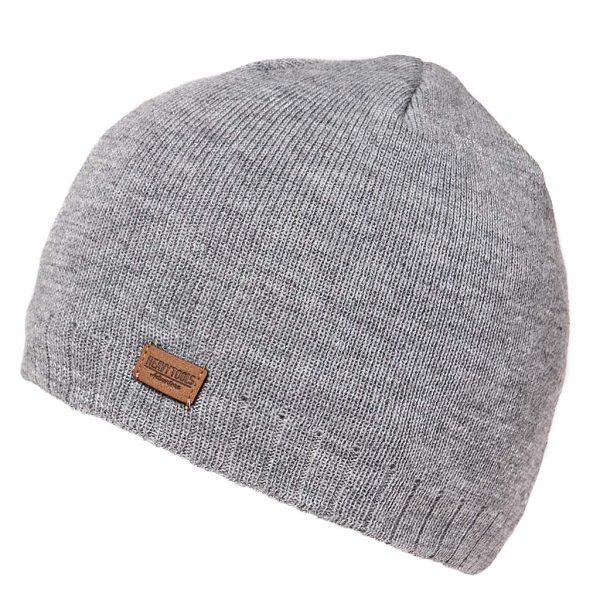 Πλεκτός Σκούφος Knitted Hat HEAVY TOOLS POSIE19 Γκρι