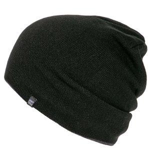 Σκούφος Διπλής Όψης Knitted Reversible Hat HEAVY TOOLS POTEK19 Μαύρο (Ανθρακί εσωτερικό)