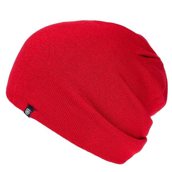 Σκούφος Διπλής Όψης Knitted Reversible Hat HEAVY TOOLS POTEK19 Κόκκινο (Navy εσωτερικό)