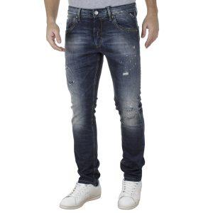 Τζιν Παντελόνι Slim Fit SHAFT Jeans 5706 Μπλε