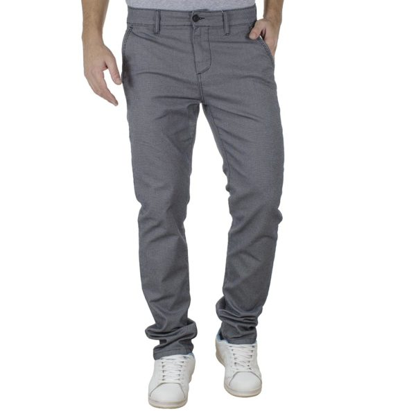 Chinos-Casual Παντελόνι SHAFT 5711 Γκρι