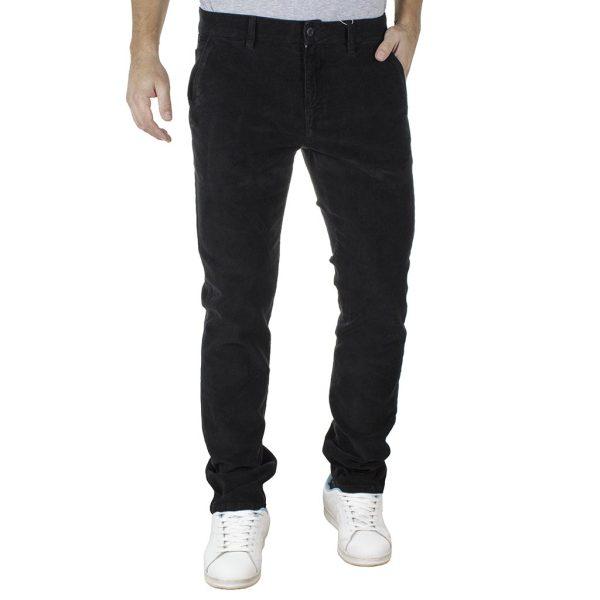 Κοτλέ Chinos-Casual Παντελόνι SHAFT K5711 Μαύρο