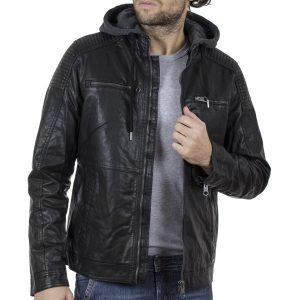 Μπουφάν Biker Jacket SPLENDID 40-201-013 Μαύρο
