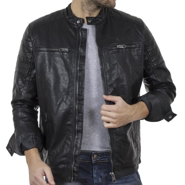Μπουφάν Biker Jacket SPLENDID 42-201-015 Μαύρο