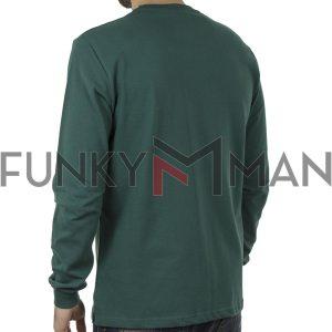 Mακρυμάνικη Μπλούζα CARAG 99-200-20N Πράσινο