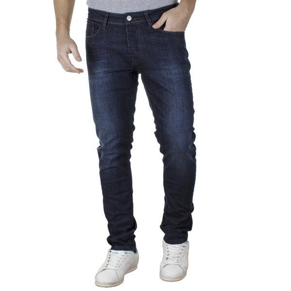 Τζιν Παντελόνι Slim DAMAGED R15B Μπλε