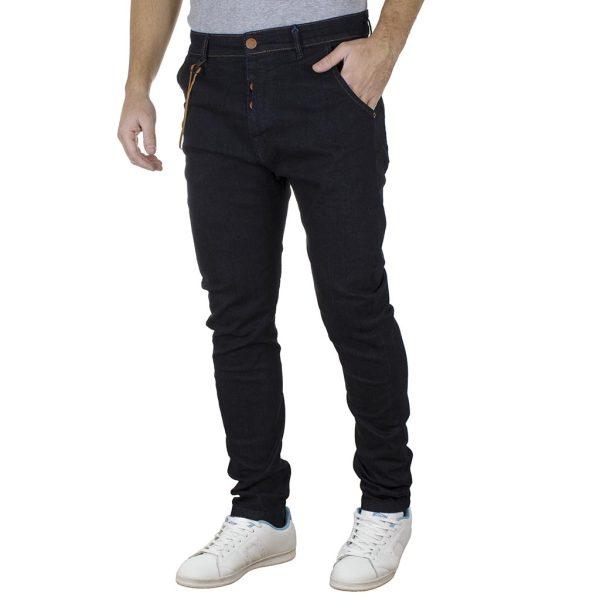 Τζιν Παντελόνι Slim DAMAGED R8 Μπλε