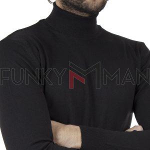 Ζιβάγκο Πλεκτή Μπλούζα ENDENSON 115 Μαύρο