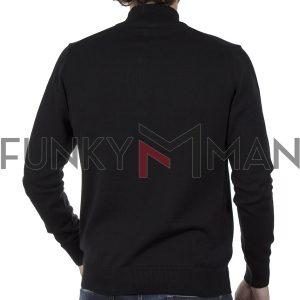 Πουλόβερ Πλεκτή Μπλούζα ENDENSON 125 Μαύρο
