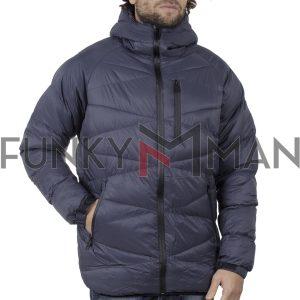Φουσκωτό Μπουφάν με κουκούλα Puffer Jacket SPLENDID 42-201-045 Navy