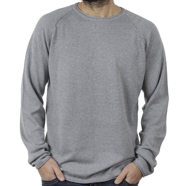 Πουλόβερ Πλεκτή Μπλούζα SMART & CO 40-206-006 Γκρι