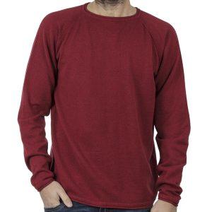 Πουλόβερ Πλεκτή Μπλούζα SMART & CO 40-206-006 Μπορντό