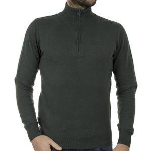 Πουλόβερ Πλεκτή Μπλούζα SMART & CO 40-206-024 Πράσινο