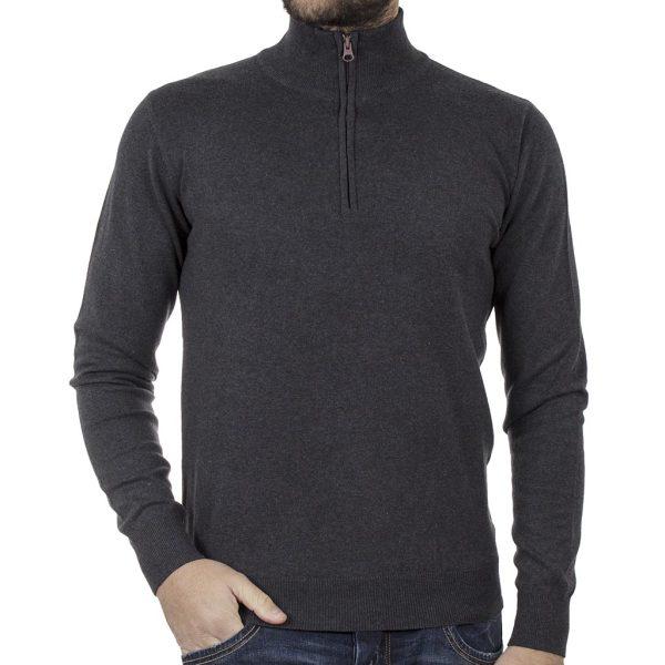 Πουλόβερ Πλεκτή Μπλούζα SMART & CO 40-206-024 Γκρι