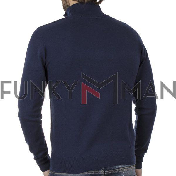 Πουλόβερ Πλεκτή Μπλούζα SMART & CO 40-206-024 Navy