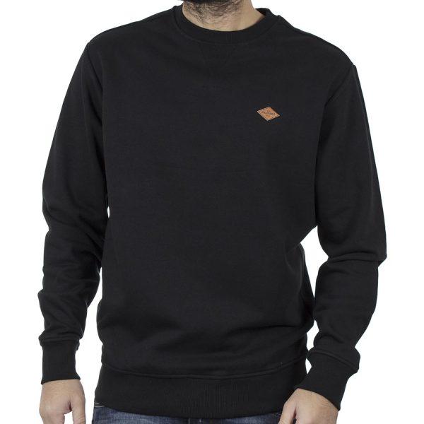 Φούτερ Βαμβακερή Μπλούζα SPLENDID 40-206-022 Μαύρο