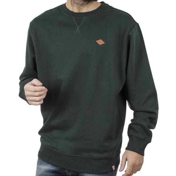 Φούτερ Βαμβακερή Μπλούζα SPLENDID 40-206-022 Πράσινο