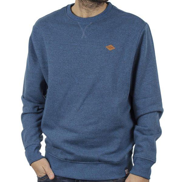 Φούτερ Βαμβακερή Μπλούζα SPLENDID 40-206-022 Indigo