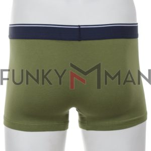 Εσώρουχο Boxer Apple 0110943 Navy Olive