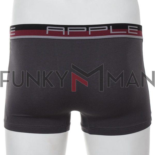 Εσώρουχο Boxer Apple 0110951 Γκρι Μπορντό
