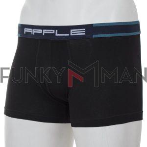 Εσώρουχο Boxer Apple 0110952 Μαύρο Petrol