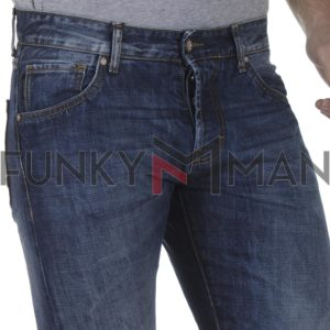Τζιν Παντελόνι Cover SS20 KENN 6450 Μπλε